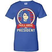 Paula Abdul President Shirt