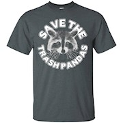 Save the Trash Pandas Raccoon Animal T-shirt