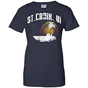 St. Croix US Virgin Islands T-shirt USVI Caribbean Gift