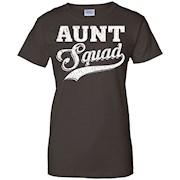 Aunt Squad Funny T-Shirt