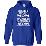 Biker Mom T-Shirt for Motorcycle and Chopper Rider Mother