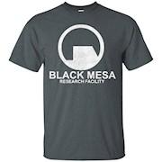 Black Mesa T-Shirt – Research Facility Shirt