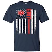 emt tshirt – flag emt