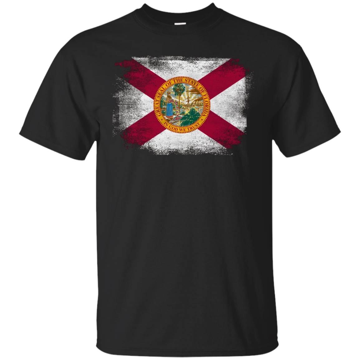 Florida State Flag Distressed Vintage Shirt