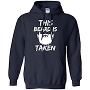 Men's This Beard is Taken T-shirt Funny bearded boyfriend husband