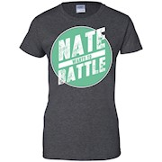 NateWantsToBattle Circle Tee t-shirt