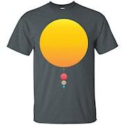 Premium Solar System Space Shirt