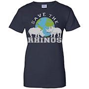 Rhino T-shirt Save The Rhinos