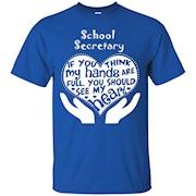 School Secretary Shirt – School Secretary Full Heart T-Shirt