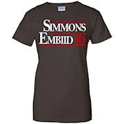 Simmons Embiid 16 shirt