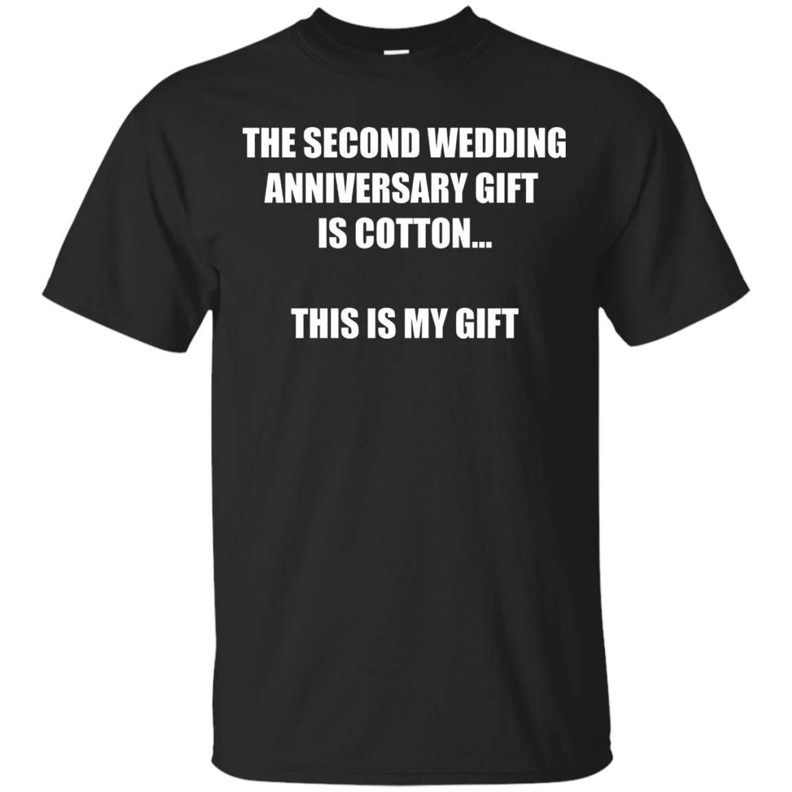 the Second Wedding Anniversary Gift Is Cotton For Him & Her