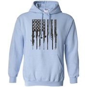 Men's Rifle American Flag Shirt Gun Rights shirt