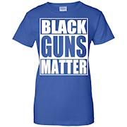Black Guns Matter 2nd Amendment T Shirt