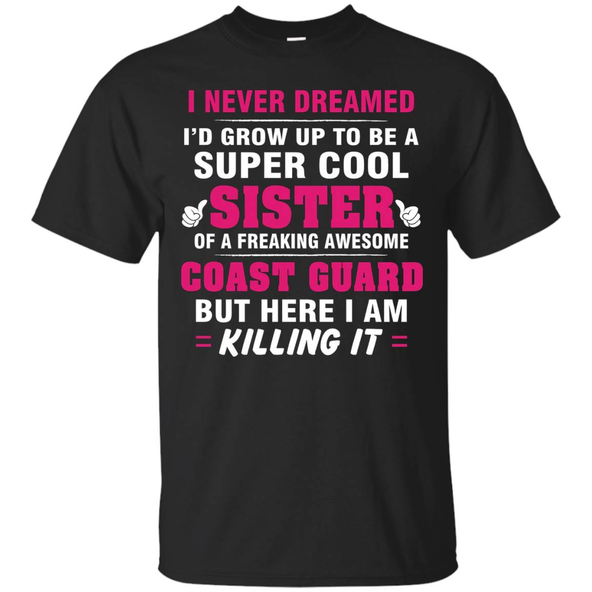 Coast Guard Sister Shirt – Cool Sister Of Coast Guard