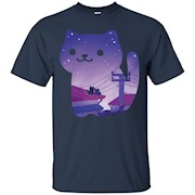 Collecting Nights – Neko Atsume T-Shirt