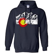 Colorado State – Colorado Moutains Flag T Shirt Gift