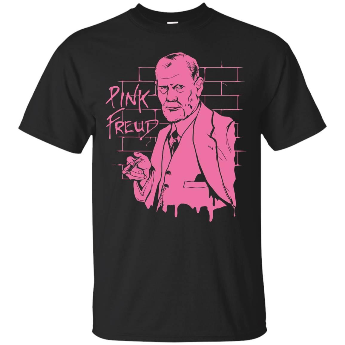 DeBran Shirts Pink Freud T-Shirt