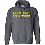 I'm Not Short I'm A Hobbit TShirt – slim fit dress shirt