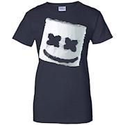 Keep It Mello Marshmallow Mask Head Face Helmet Tee T-shirt
