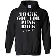 Men's Thank God For Punk Rock T-Shirt