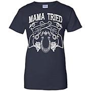 Merle Haggard Mama Tried tshirt