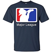 NEW MAJOR LEAGUE Beer Drinking T-shirt Funny Humor Men's