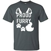 PROUD FURRY t shirt