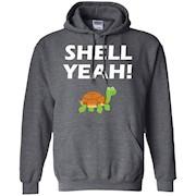 Shell Yeah! Funny Tortoise Cute Pet Turtle T-Shirt