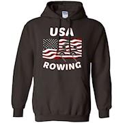 USA Rowing Flag, American Gift T Shirts