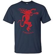 Fireball Cinnamon Whiskey Dragon T-Shirt