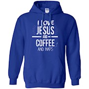 I Love Jesus And Coffee And Naps Coffee Shirt