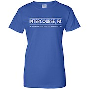 Intercourse PA T-Shirt – Between Blue Ball and Paradise Tee