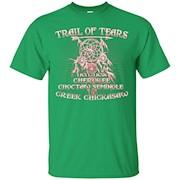 Cherokee Tshirt , Trail of tears Cherokee