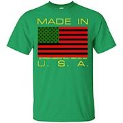 African American Flag Shirt