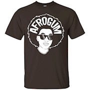 AfroGum shirt for men and women – Black Red Blue colors