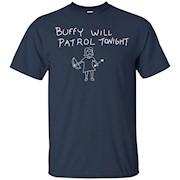 Buffy Will Patrol Tonight T-Shirt