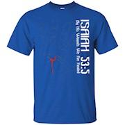 Christian T Shirt Religious Spiritual Faith Isaiah 53 5