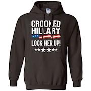 Crooked Hillary – Lock Her Up T-Shirt, Hillary Clinton Shirt