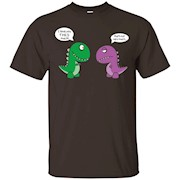 "Cute T-Rex ""I LOVE YOU THIS MUCH"" T-Shirt"
