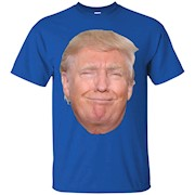 Donald Trump Head Funny Smiling Face T-Shirt