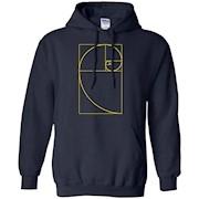 Golden Ratio Spiral T-Shirt Fibonacci Spiral Tee Shirt