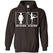 Men's my girlfriend Ballet Dancers Shirt – ballet tee shirt