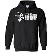 Skydiving T-Shirt – If At First You Don't Succeed