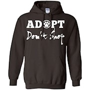 Adopt Don't Shop Shirt Animal Funny Gifts Dog Rescue T-Shirt