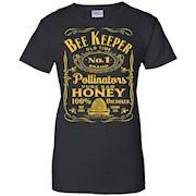 Beekeeper T-Shirt Beekeeping Shirt Old Time Honey