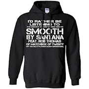 Rather be listening to Smooth (white)