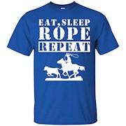 Roping Shirts – Eat Sleep Rope Repeat Shirt