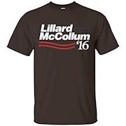 Lillard mccollum 2016 Shirt