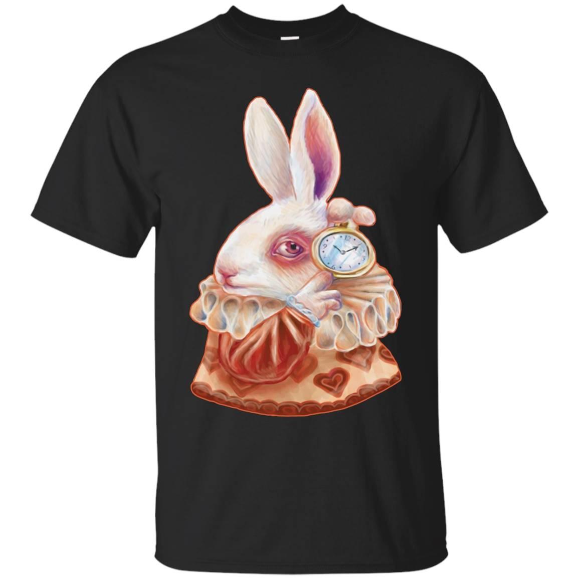Alice in Wonderland White Rabbit Tee Shirt