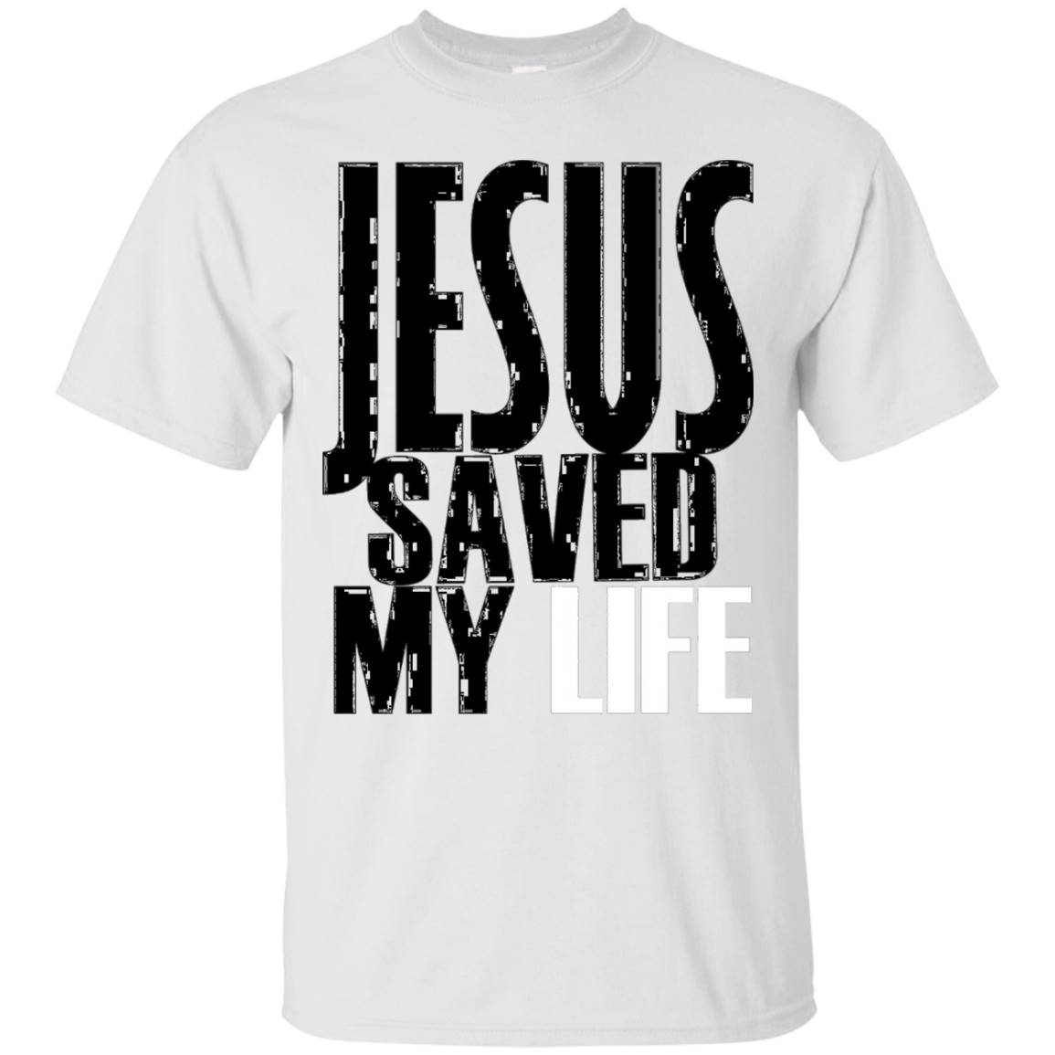 Christian T-Shirt Jesus Changed My Life Christian T-Shirt